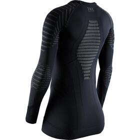 X-Bionic Invent 4.0 Koszulka z długim rękawem Kobiety, black/charcoal